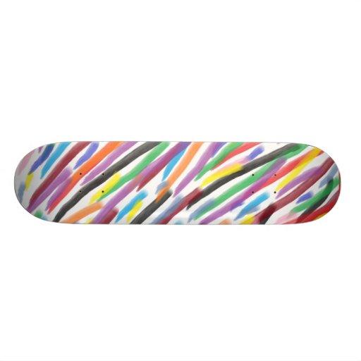 Modern Irises Skate Decks