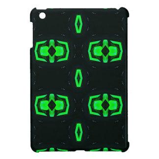 Modern Irish Green Geometric Pattern Case For The iPad Mini