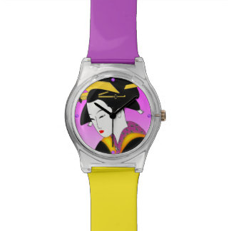 Modern Japanese Geisha Watch