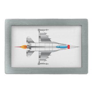 Modern Jet Fighter Plane Belt Buckle