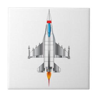 Modern Jet Fighter Plane Tiles