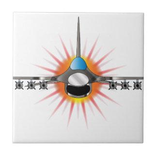 Modern Jet Fighter Tiles