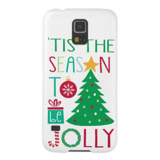 Modern Jolly Christmas Case For Galaxy S5