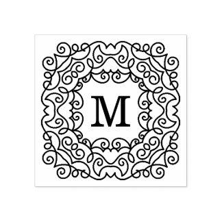 Modern Joy | Monogram Rubber Stamp