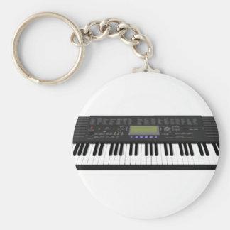 Modern Keyboard Synth: 3D Model: Keychain