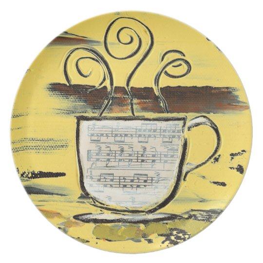 Modern Kitchen Cafe Plate