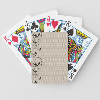 Modern Lace Abstract Bicycle Playing Cards
