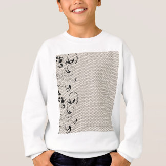 Modern Lace Abstract Sweatshirt