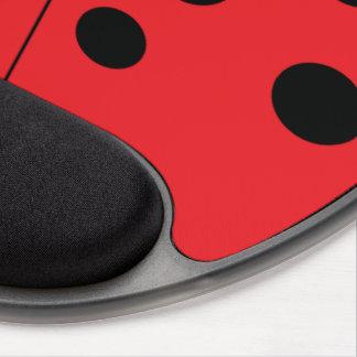 Modern Ladybug Gel Mousepad