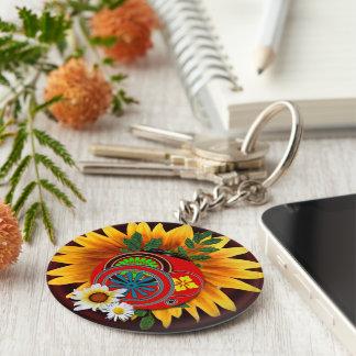 Modern Ladybug Keychain