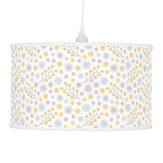 Modern Lamp Scandinavian Floral Pastel