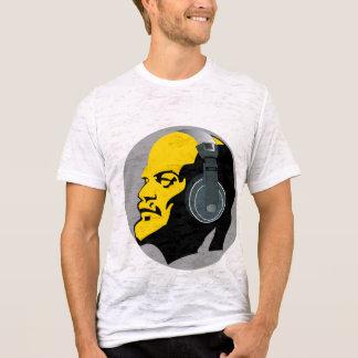 MODERN LENIN WITH HEADPHONES ILLUSTRATION T-Shirt