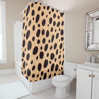 Modern Leopard Polka Dots Pattern
