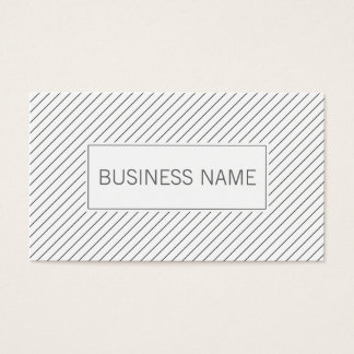 Modern Lines Swim Instructor Business Card