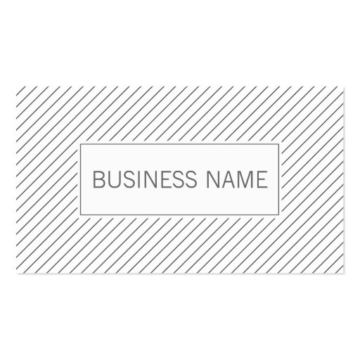 Modern Lines Wedding Planner Business Card