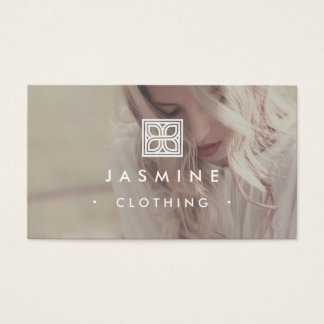 ★ Modern Logo Design Photography Business Card