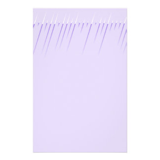 Modern Look Lavender Stationery