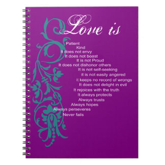 Modern Love Is Wedding Journal Note Books