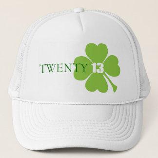 Modern lucky shamrock style 2013 hat