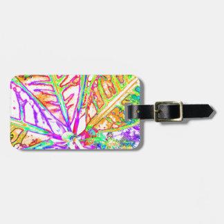 modern luggage tag