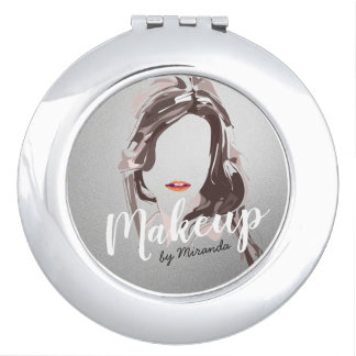 Modern Makeup Artist and Hair Stylist Beauty Salon Makeup Mirror