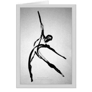 Modern Male Dancer Card