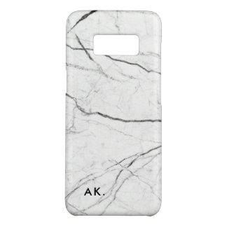 Modern Marble pattern - add your initials Case-Mate Samsung Galaxy S8 Case