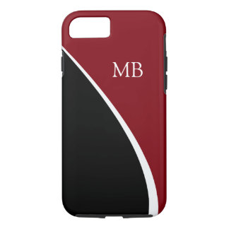 Modern Mens Monogram Case-Mate iPhone Case
