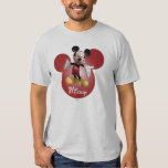 Modern Mickey | Red Head Background Shirts