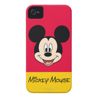 Modern Mickey | Smiling Head iPhone 4 Case-Mate Case