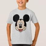 Modern Mickey   Smiling Head T-Shirt