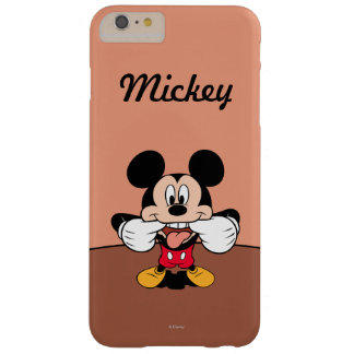 Modern Mickey | Sticking Out Tongue Barely There iPhone 6 Plus Case