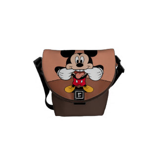 Modern Mickey | Sticking Out Tongue Commuter Bag