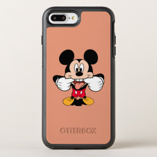 Modern Mickey   Sticking Out Tongue OtterBox Symmetry iPhone 7 Plus Case
