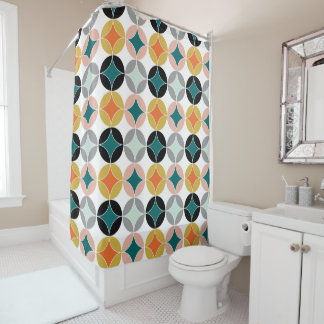 Modern Mid Century Retro  Style Repeat Patterned