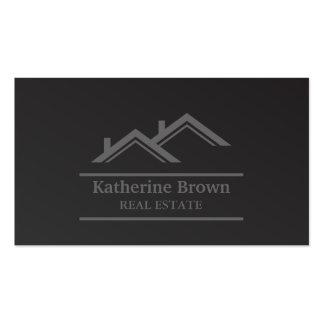 Modern Minimalist Professional Real Estate Realtor Pack Of Standard Business Cards