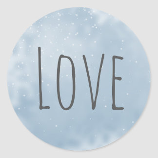 Modern Minimalist White Gray Silver Love Seal