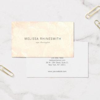 Modern Minimalistic Professional Soft Grunge Business Card