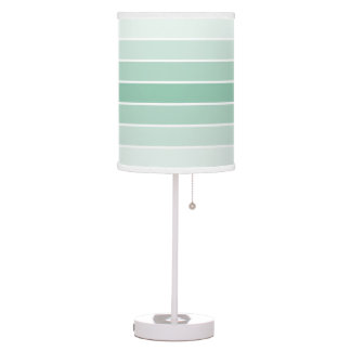 Modern Mint Ombre Table Lamp