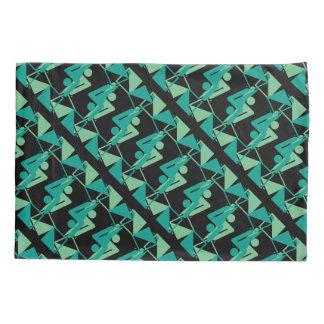 Modern Mirrored Geometric & Abstract Pattern Pillowcase