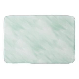 Modern Misty Mint Green Pastel Rug Bath Accessory