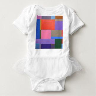 Modern/Mondrian Art Baby Bodysuit