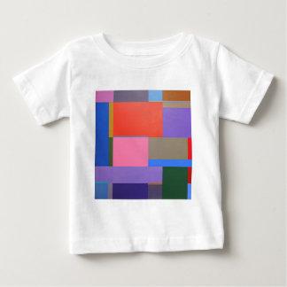 Modern/Mondrian Art Baby T-Shirt