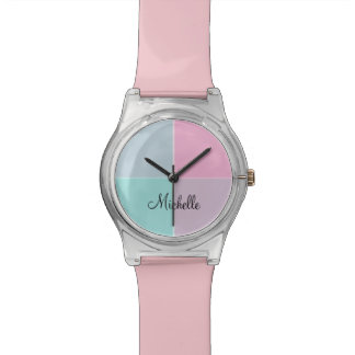 Modern Monogram Art Watch