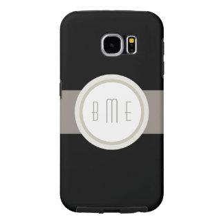 Modern Monogram Samsung Galaxy S6 Cases
