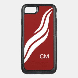 Modern Monogram OtterBox Commuter iPhone 8/7 Case