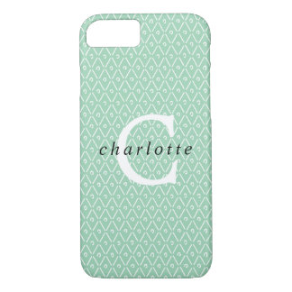 Modern Monogram Overlay iPhone 8/7 Case