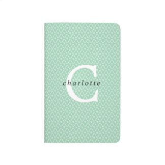 Modern Monogram Overlay Notebook