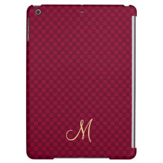 Modern Monogram Pattern iPad Air Slim Hard Case iPad Air Covers