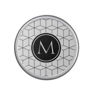 Modern Monogram Speaker